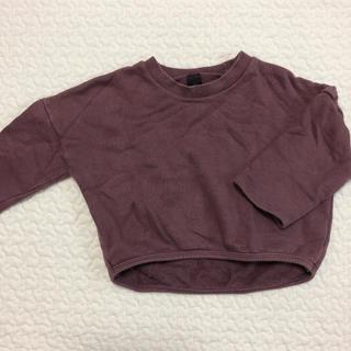 プティマイン(petit main)の韓国こども服 シンプルスウェット(トレーナー)