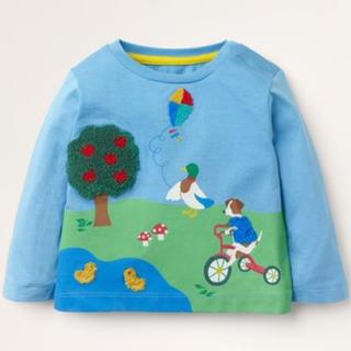 Boden - 新品❣️Boden   ブルー 公園柄Tシャツ