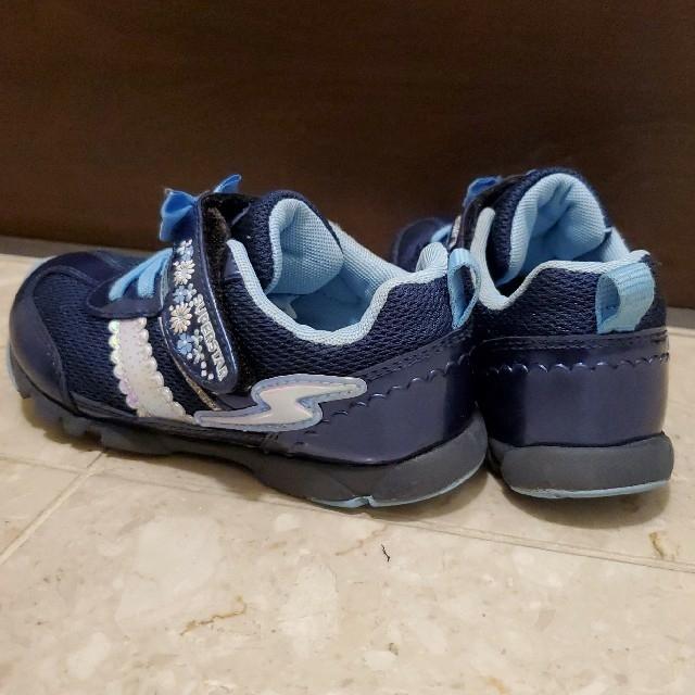 MOONSTAR (ムーンスター)のムーンスター 子供 靴 17センチ キッズ/ベビー/マタニティのキッズ靴/シューズ(15cm~)(スニーカー)の商品写真