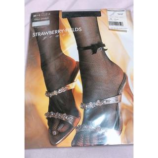 STRAWBERRY-FIELDS - ストロベリーフィールズ 網タイツ ストッキング 新品未使用