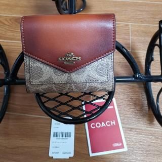 COACH - コーチ折りたたみ財布レディース折り財布