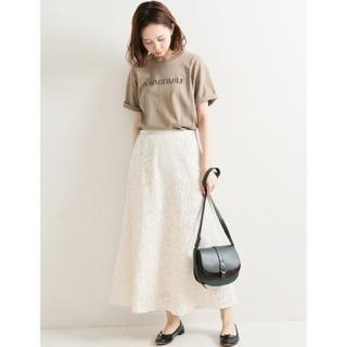 IENA - イエナ♡フラワーレーススカート 38