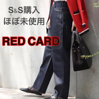 スピックアンドスパン(Spick and Span)のRED CARD◆GROOVE LOOSE STRAIGHTデニムパンツ(デニム/ジーンズ)