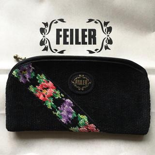 FEILER - フェイラー FEILER  ポーチ (メガネケース  ドイツ シェニール織り