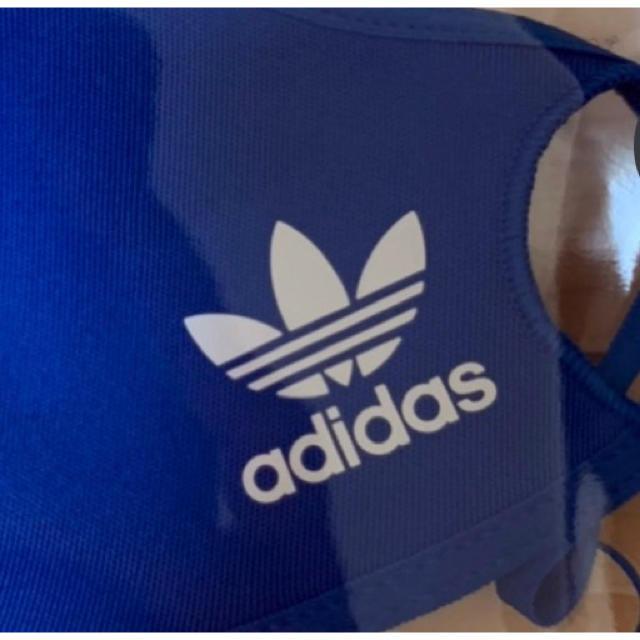 adidas(アディダス)のadidas BLUE XS/S 3枚組  アディダス ブルー XS S スポーツ/アウトドアのトレーニング/エクササイズ(トレーニング用品)の商品写真