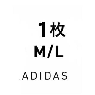 アディダス(adidas)のadidas BLACK M/L 1枚 アディダス ブラック M L(その他)