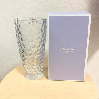 ウェッジウッド(WEDGWOOD)のWEDGWOOD クリスタルシークインベース(花瓶)