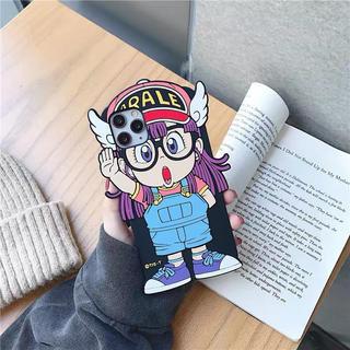 大人気Dr.スランプアラレちゃんスマホケース iPhoneカバー シリコン製