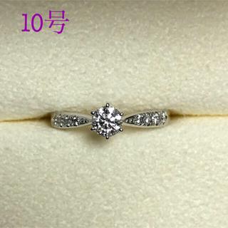 タサキ(TASAKI)の* tasaki  * ピアチェーレ ソリティア パヴェ リング 10号 ダイヤ(リング(指輪))