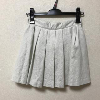 マーキュリーデュオ(MERCURYDUO)のMERCURYDUO 白 スカート(ミニスカート)