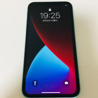 iPhone - iPhone11本体 SIMフリー 64GB ミッドナイトグリーン