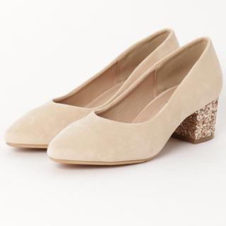 ZARA - グリッターヒール スエード パンプス Shoes in Closet
