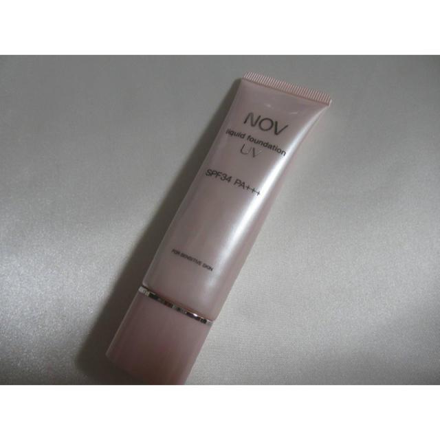 NOV(ノブ)のノブ リキッドファンデーション ピンクオークル10 コスメ/美容のベースメイク/化粧品(ファンデーション)の商品写真