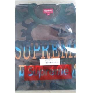 シュプリーム(Supreme)の最強新品本物 シュプリーム迷彩メッシュTee L(Tシャツ/カットソー(半袖/袖なし))