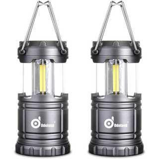 【2個セット】Odoland LEDキャンプランタン 最新のCOB LED採用