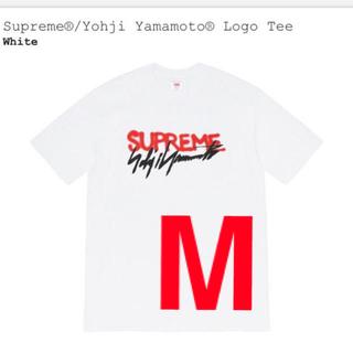 Supreme - Supreme®/Yohji Yamamoto® Logo Tee White