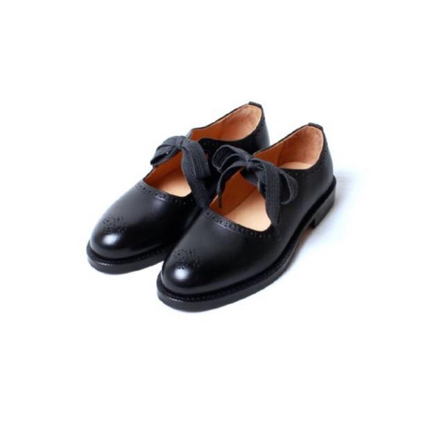 Hender Scheme(エンダースキーマ)のエンダースキーマ ラットホール 6 ブラック 箱付き メンズの靴/シューズ(ドレス/ビジネス)の商品写真