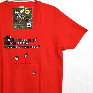 innocent RECORD INO hidefumi 限定Tシャツ 缶バッヂ(Tシャツ(半袖/袖なし))