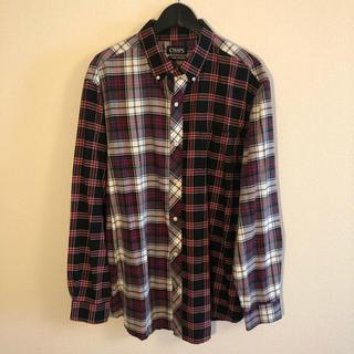 CHAPS crazy pattern L/S shirt