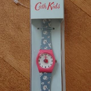 キャスキッドソン(Cath Kidston)のキャスキッドソン キッズウォッチ てんとう虫 ウォッシュドディッツィー デニム(腕時計)