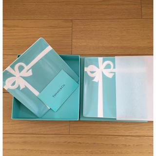 Tiffany & Co. - ティファニー ブルーボウ デザートプレートセット