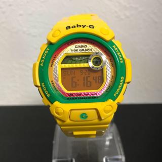 ベビージー(Baby-G)のbaby g  ベビーg イエロー(腕時計)