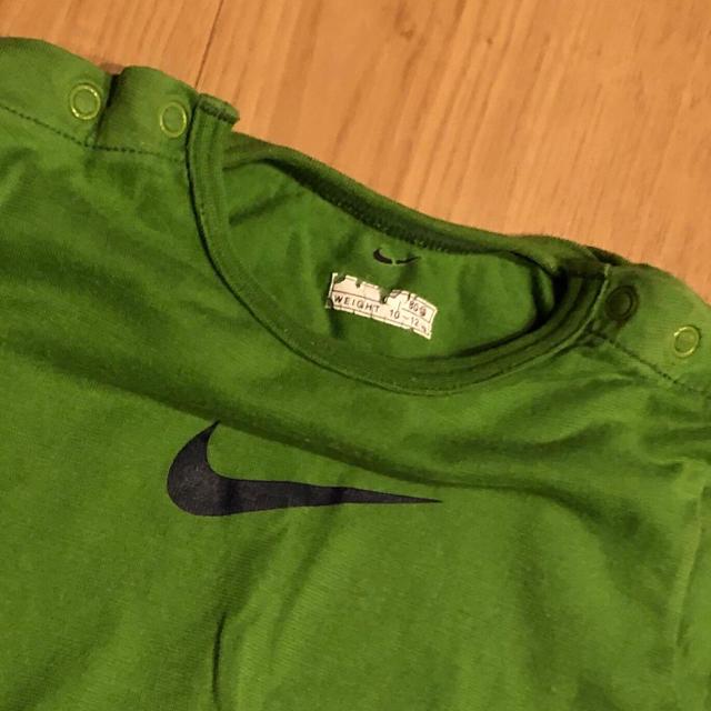 NIKE(ナイキ)の♡NIKEロンパース80 キッズ/ベビー/マタニティのベビー服(~85cm)(ロンパース)の商品写真