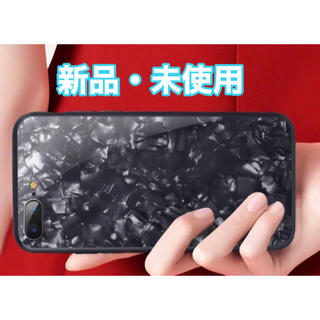 iPhoneX スマホケース  大理石柄  ブラック