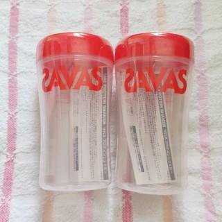 ザバス(SAVAS)のザバス プロテインシェイカー 500ml 2個(容器)