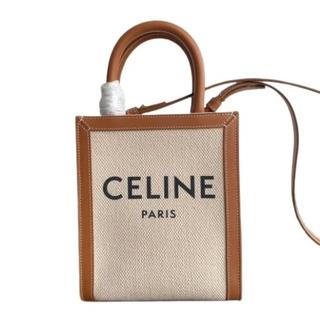 celine - celine キャンバストートバック