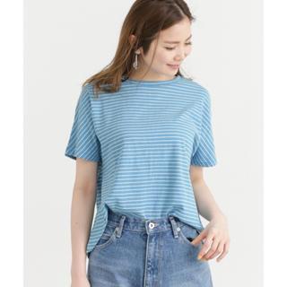 サニーレーベル(Sonny Label)のコットン天竺ボーダーTee(Tシャツ(半袖/袖なし))