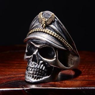 髑髏 船長 リング 指輪 アクセサリー(リング(指輪))