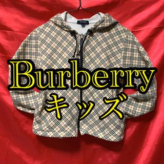 BURBERRY - バーバリー  キッズパーカージャケット^_^