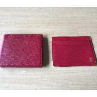 ロレックス(ROLEX)のロレックス サイフ+パスケース(財布)
