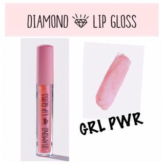 セフォラ(Sephora)のダイアモンドリップグロス ♡ ピンク ラメ パール(リップグロス)