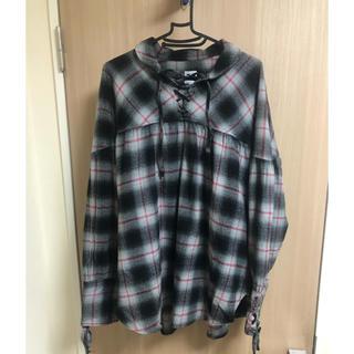 ニードルス(Needles)のAiE String Shirt シャツ ストリングシャツ オンブレシャツ(シャツ)