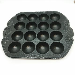 新品未使用 たこ焼きプレート 16穴(調理道具/製菓道具)