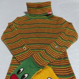 スーパーブーホームズ(SUPER BOO HOMES)の子供服 BOO HOMES (ブーフーウー)  タートルネックセーター120(Tシャツ/カットソー)