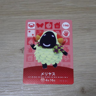 ニンテンドースイッチ(Nintendo Switch)のあつ森 amiibo メリヤス(その他)