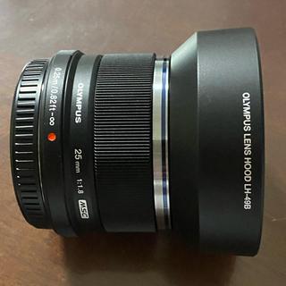 OLYMPUS - 【値下】オリンパス単焦点レンズM.ZUIKO DEGITAL 25mm F1.8