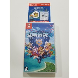 SQUARE ENIX - 聖剣伝説3 Switch 任天堂スイッチ ソフトリメイク☆