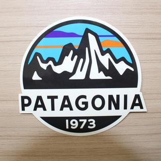 パタゴニア(patagonia)のパタゴニア ステッカー 山脈ロゴ(その他)
