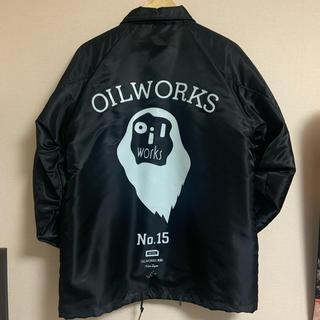 ステューシー(STUSSY)のOILWORKS コーチジャケット OLIVE OIL POPY OIL(ナイロンジャケット)