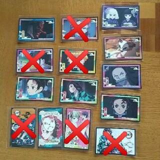 鬼滅の刃デコステッカー14枚セット(キャラクターグッズ)