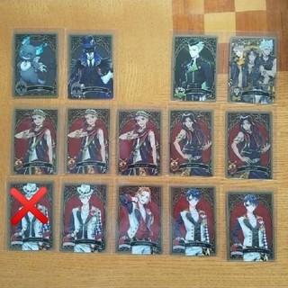 ツイステッドワンダーランド メタルカードコレクション14枚セット(カード)