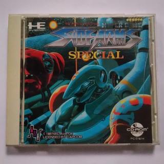 エヌイーシー(NEC)のサイドアームスペシャル PCエンジン CD-ROM2 PCE(家庭用ゲームソフト)