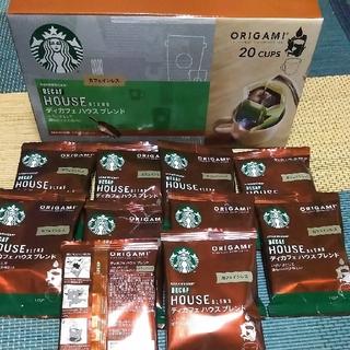 Starbucks Coffee - スターバックス オリガミ ディカフェハウスブレンド 10袋