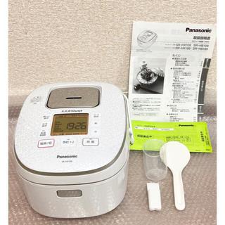 Panasonic - パナソニック 炊飯器 5.5合 IH式 大火力おどり炊き スノーホワイト