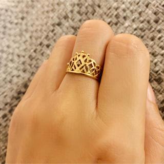 k18 指輪 #10(リング(指輪))