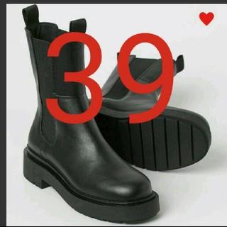 エイチアンドエム(H&M)の39新品エイチアンドエム h&m VERY掲載ハイプロファイルチェルシーブーツ(ブーツ)